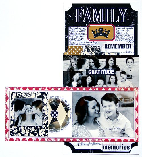 Document Family 6x12 layout class inside 2
