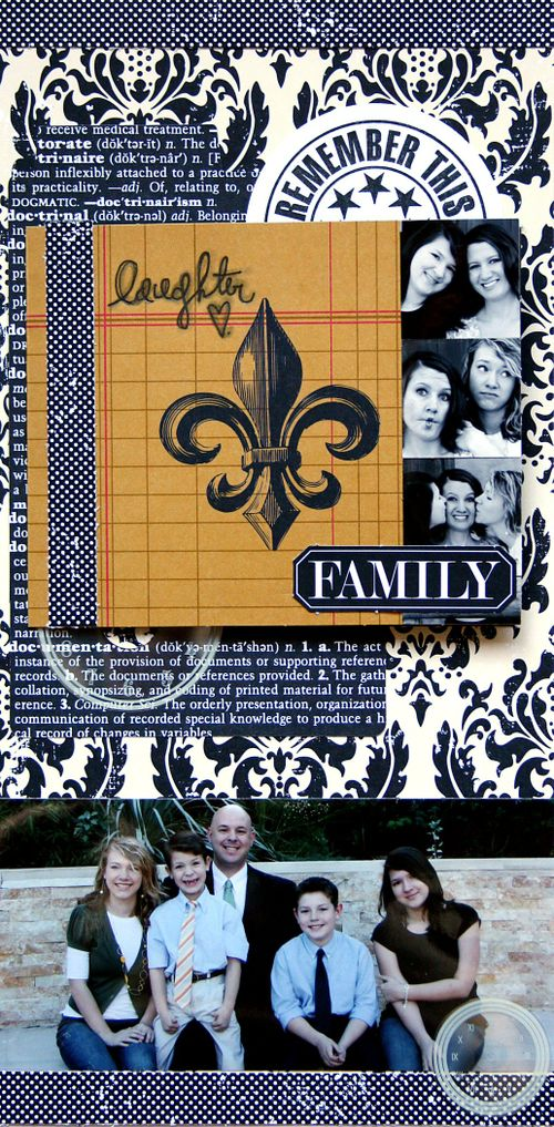 Document Family 6x12 layout class