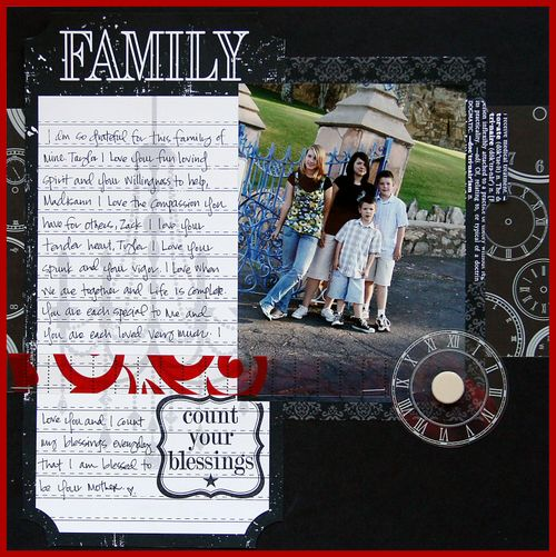 Documented layout family