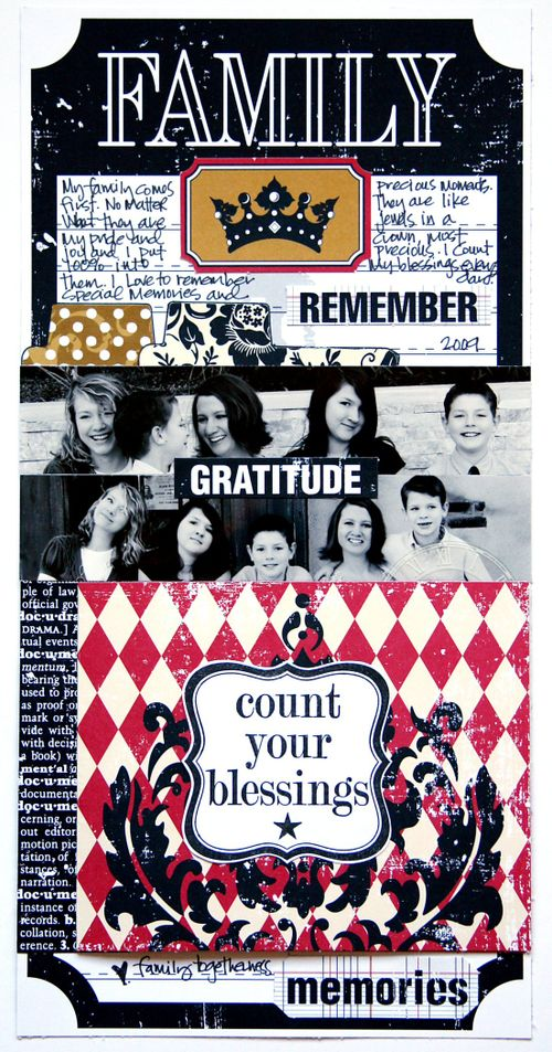 Document Family 6x12 layout class 2