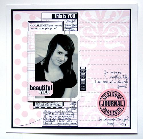 Journal It Girl Beautiful you