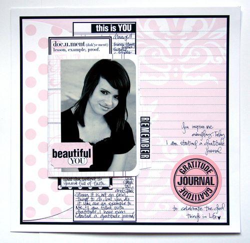 Journal It Girl Beautiful you