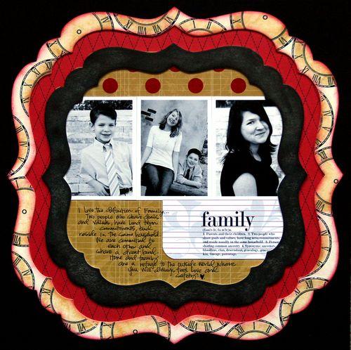 Family bracket frame