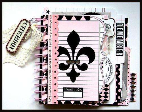 Journal It Girl Album 1