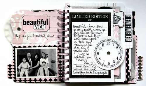 Journal It Girl Album 3
