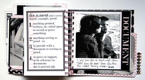 Journal It Girl Album 4