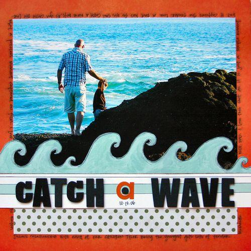 Boardwalk - catch a wave